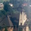Nowy kościół wbudowie - © Edward Ślusarz 2003