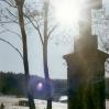Krzyż przydrożny niedaleko Rozdziela - © Edward Ślusarz 2003