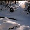 Zimowy krajobraz - © Edward Ślusarz 2003