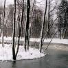 Staw wlipińskim parku zimą - © Edward Ślusarz 2003