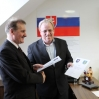 Podpisanie umowy zeSverzovem 2013