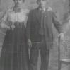 Rodzeństwo Trzaskoś z Wójtowej - ok. 1918 - Archiwum Marii Trzaskoś