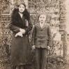 Rodzeństwo: Jadwiga i Jan Tatara (ok. 1936) - Archiwum Piotra Popielarza