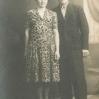 Józef i Maria Bubniak po ślubie (1939) - Archiwum Łukasza Piroga