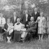Rodzina Ślusarzów około 1932 roku - Archiwum Wiktora Bubniaka