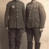 W niemieckiej niewoli (1939): W. Knapik z Lipinek (z lewej) i J. Biernacki z Cieklina - Archiwum Genowefy Knapik