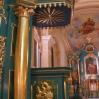 Zabytkowa ambona kościoła wLipinkach