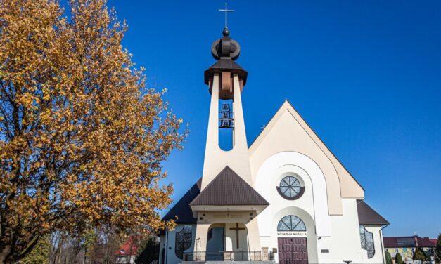 Noc Narodzenia Pańskiego pierwszy raz wnowym kościele wLipinkach