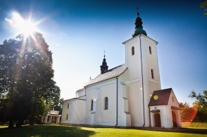 Zabytkowy kościół wLipinkach - fot.Wiktor Bubniak