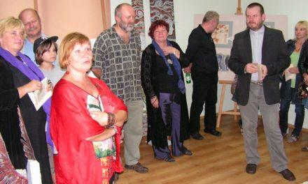 Wystawa wCieklinie – twórczość Małgorzaty iBogdana Samborskich