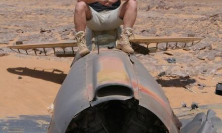 Wrak samolotu RAF-u odnaleziony naSaharze