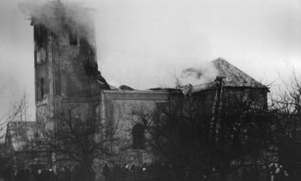 Pożar Sanktuarium wLipinkach 1972