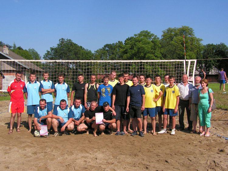 Turniej piłki siatkowej – Gminne Igrzyska LZS