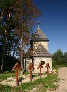 Cmentarz wojenny wCieklinie - fot.Wiktor Bubniak