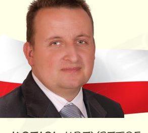 Krzysztof Kozioł zLipinek będzie kandydował doSejmu RP
