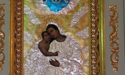 MB Kalwaryjska zestarego kościoła wLipinkach ma nową sukienkę