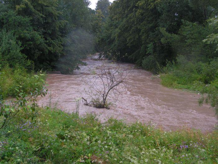 Regulacja potoków wGminie Lipinki