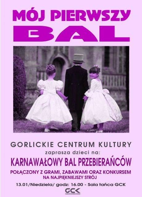 Zaproszenie naKarnawałowy Bal Przebierańców