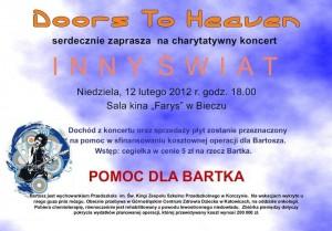 Koncert dla Bartosza Wilczkiewicza