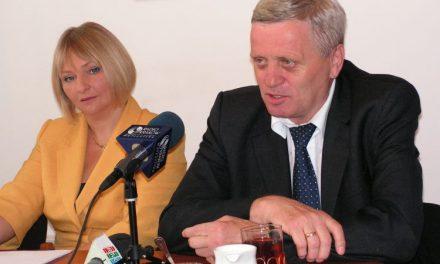 Poseł Barbara Bartuś nawakacyjnej konferencji