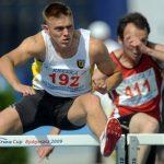 Dominik Bochenek wywalczył srebrny medal weFrancji