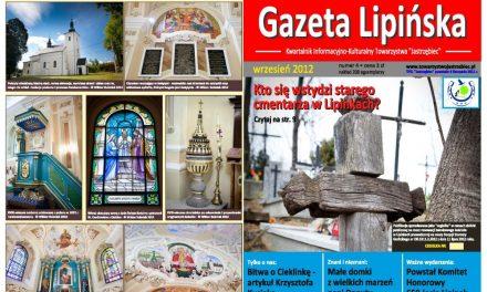"""Gazeta Lipińska"" powraca"