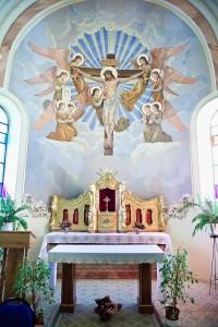 Boczna kaplica zabytkowego kościoła wLipinkach - fot.Wiktor Bubniak