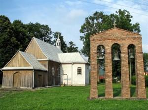 Zabytkowy kościół wWójtowej