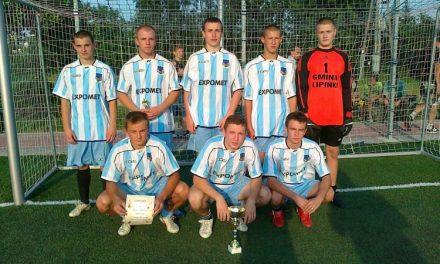 Piłkarze zKrygu zwyciężają wkolejnych zawodach Gminnych Igrzysk LZS