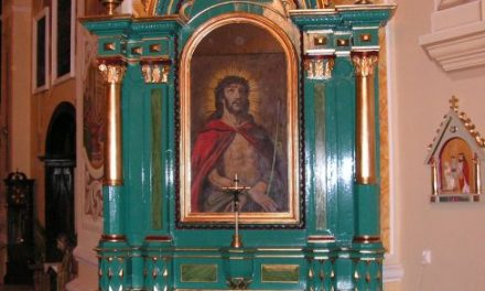 Stary kościół wLipinkach ma drugi ołtarz boczny