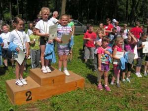 Puchar Wójta Gminy Lipinki - dekoracja uczestników