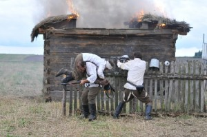 Kadr zfilmu Historia Roja