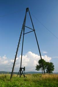Trojak naftowy naPańskiej Górze - fot.Wiktor Bubniak
