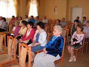 Zebranie wiejskie wLipinkach - fot.Popielarz