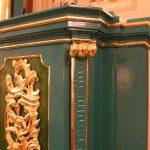 Zabytkowa ambona starego kościoła wLipinkach wróciła namiejsce