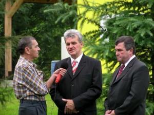 Oczyszczalnia ścieków wWójtowej - przemawia Czesław Rakoczy