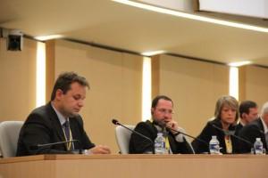 Paweł Śliwa podczas konferencji wLyon - © Archiwum 2011