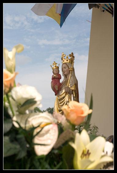 Przeniesienie Figury Matki Bożej Lipińskiej w2005 roku