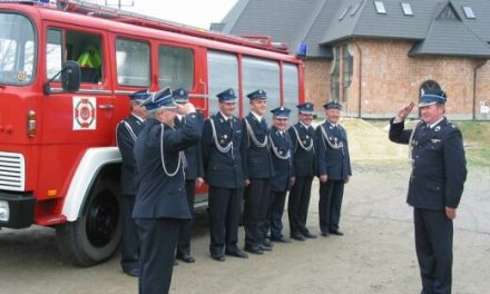 Strażacy zGminy Lipinki dla Ojca Świętego