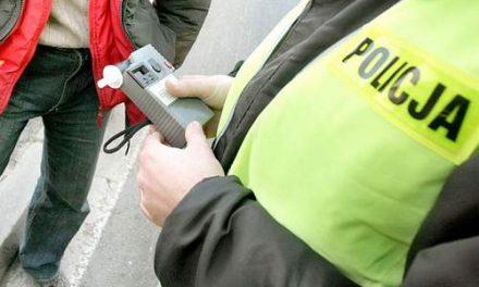 Kierowca zpromilami zatrzymany wBednarce