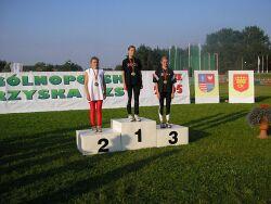 Trzy medale ULKS Lipinki zdobyte wKielcach