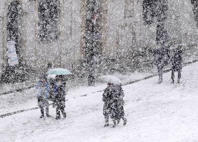 Końcem listopada ponownie zapuka donas zima