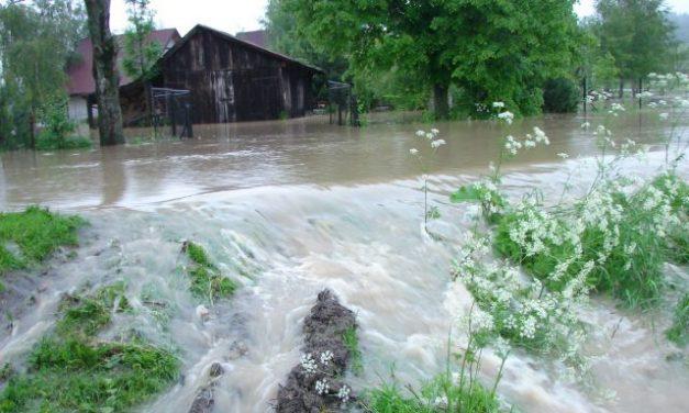 Powódź wpowiecie gorlickim