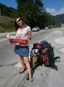 Anita Gurbisz podróżuje doGruzji autostopem