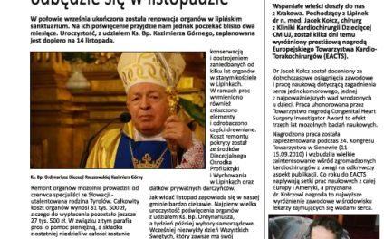 Gazeta Lipińska – papierowa wersja NIS Lipinek