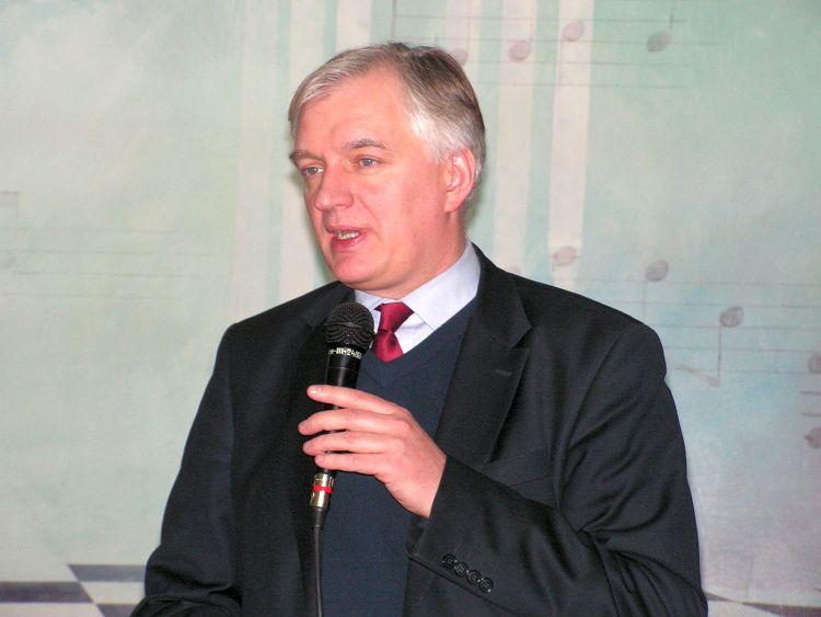 Zbigniew Girzyński naspotkaniu wGorlicach