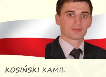 Kamil Kosiński kandydatem doRady Gminy Lipinki