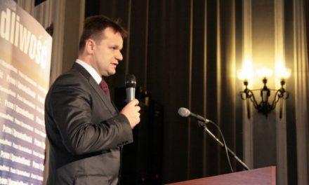 Jarosław Kaczyński spotkał się zmieszkańcami Gorlic ipowiatu