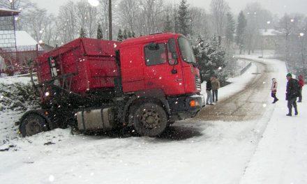 Pierwszy śnieg – śliskie drogi!