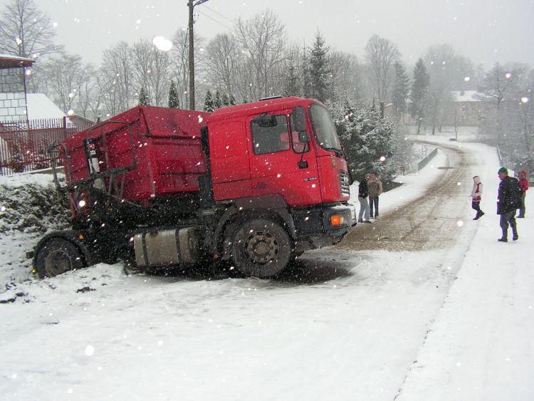 Pierwszy śnieg może spaść wnajbliższy poniedziałek